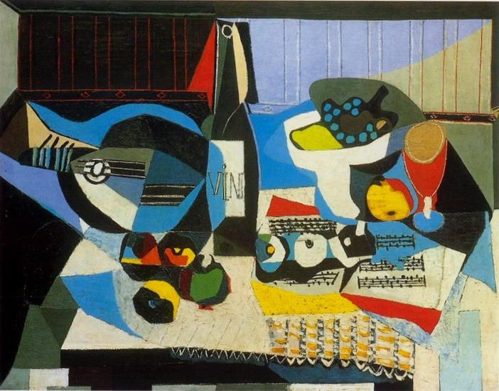 Conférence Jean SERROY 9 mars 16 Picasso, La Bouteille de vin, 1926